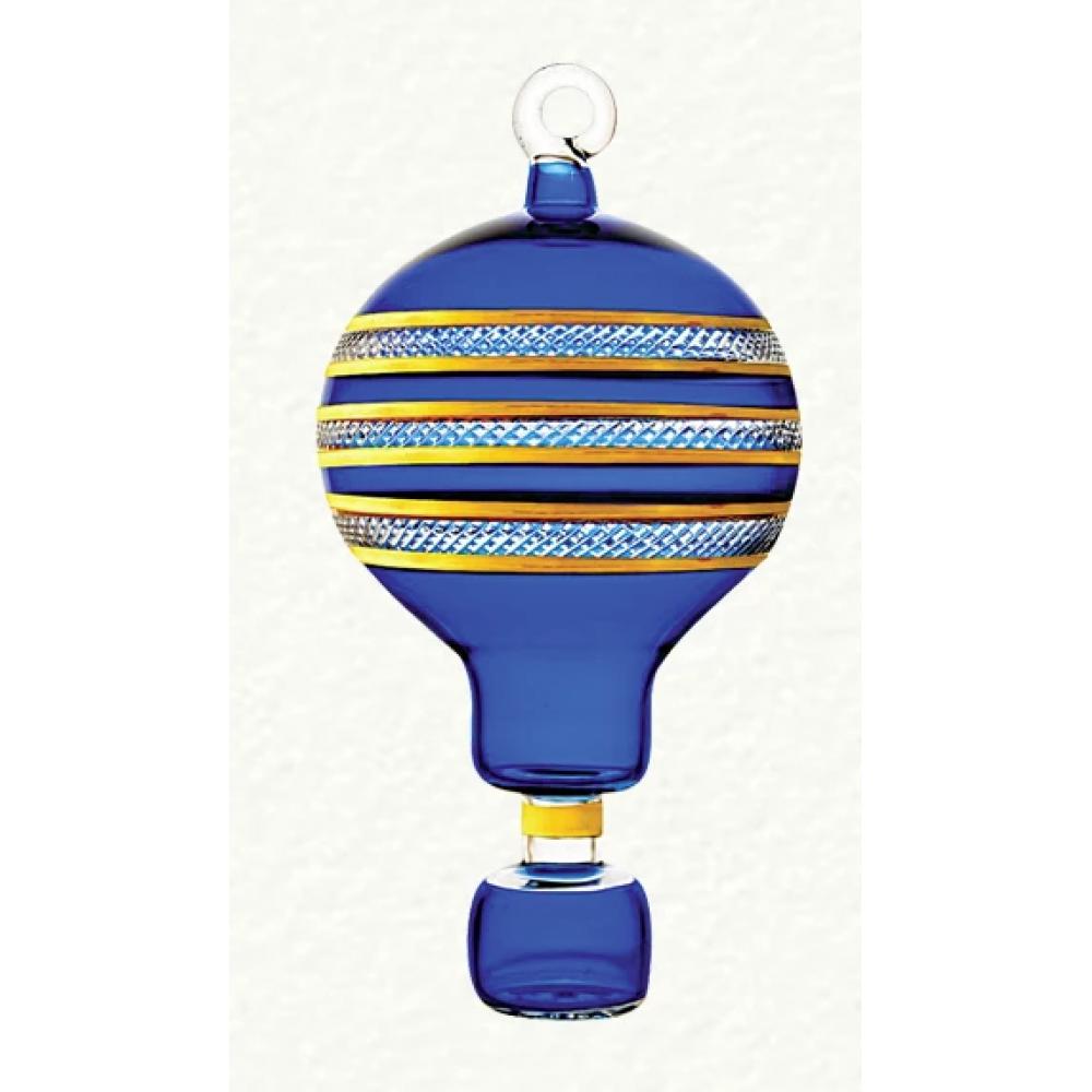 Ornament - Hot Air Balloon Blue