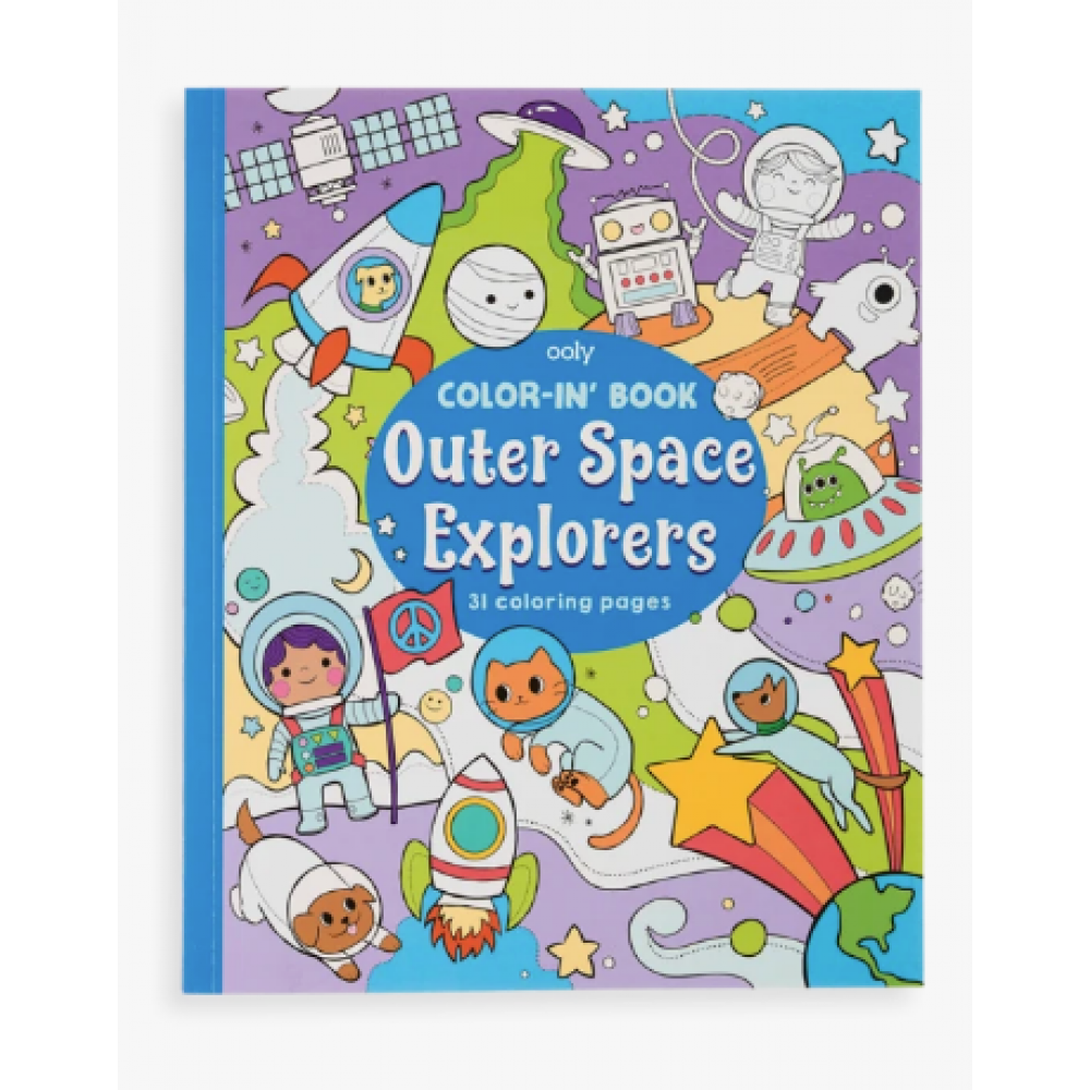 Color-in-Book: Outer Space
