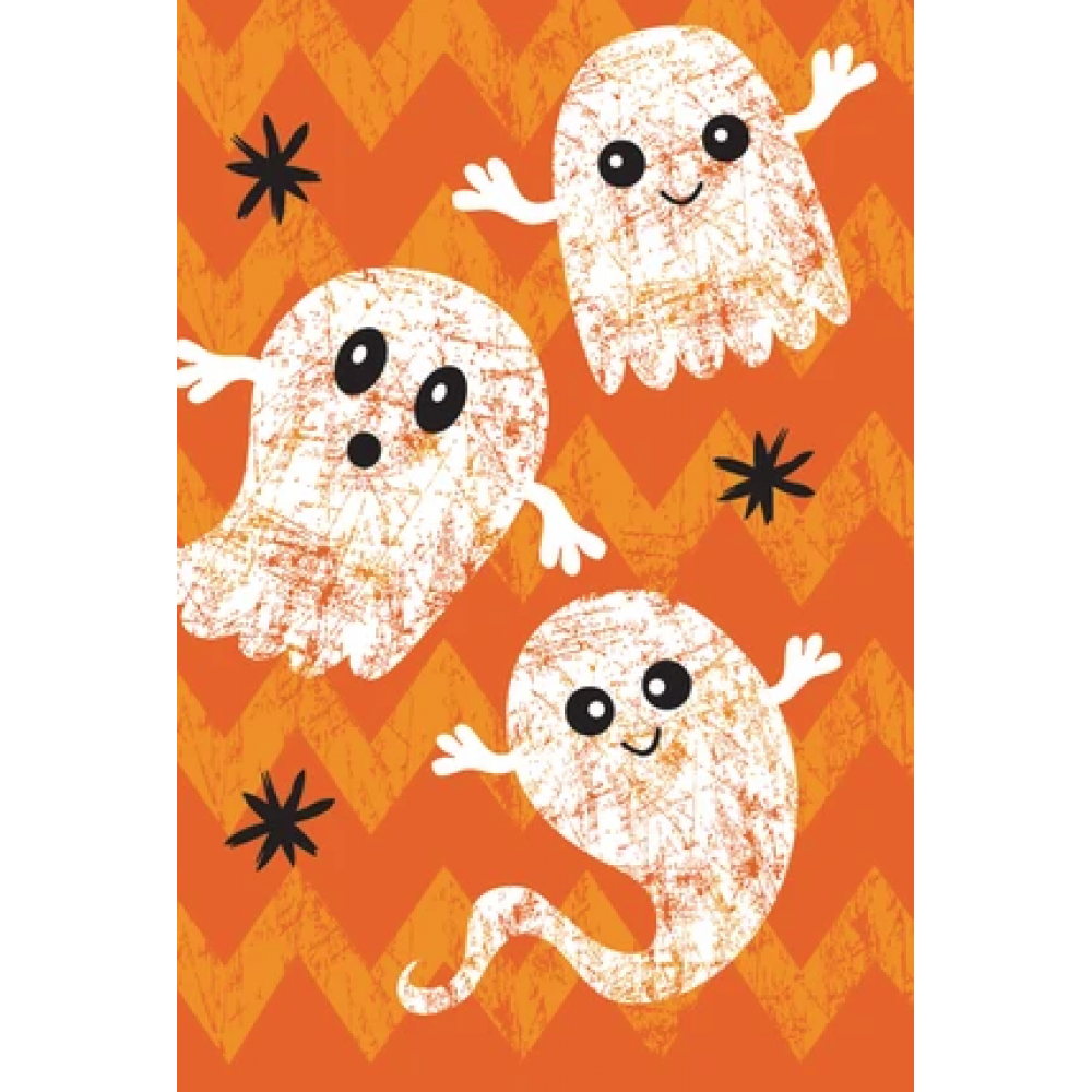 Halloween - Glitter Ghosts