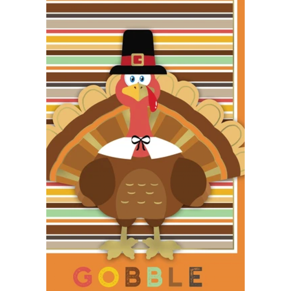 Thanksgiving - Gobble Turkey