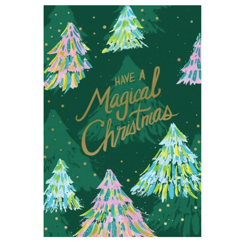 Christmas - Magical Christmas w/Trees
