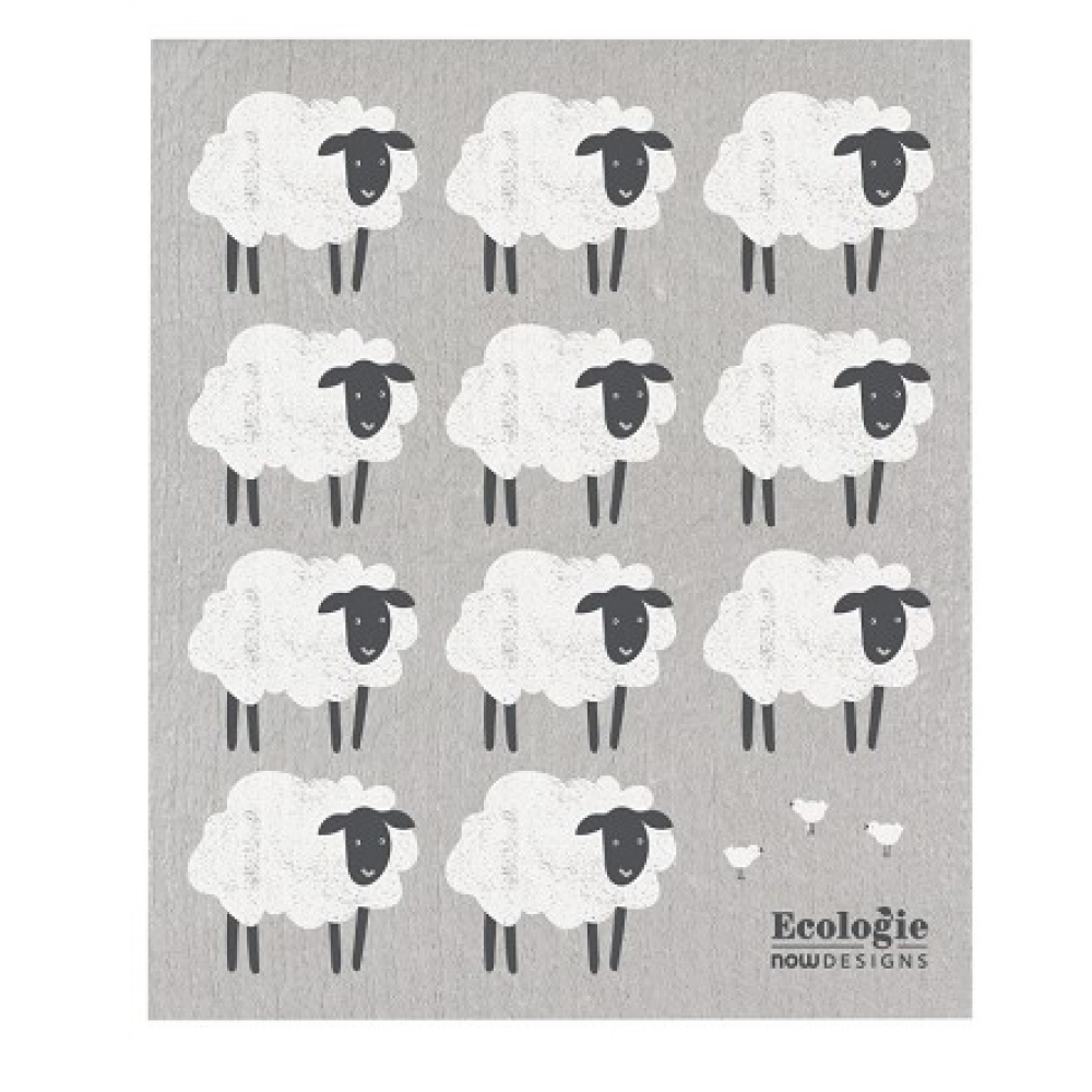 Dish Towel - Counting Sheep