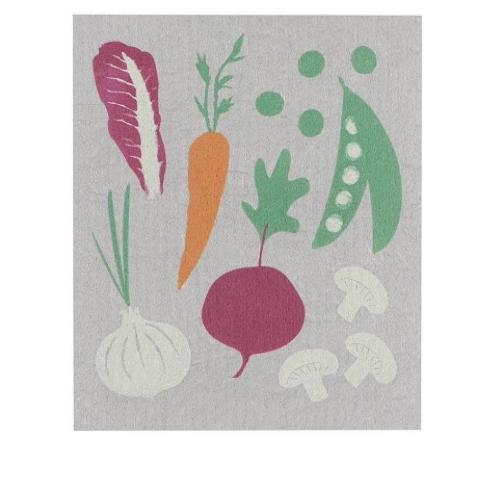 Swedish Dish Towel Veggies