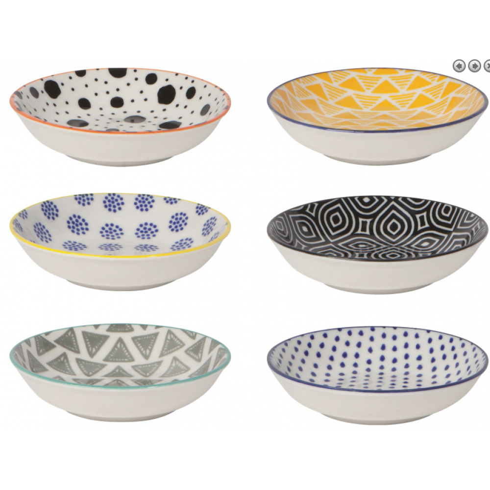 Pinch Bowl - Bits and Dots S/6