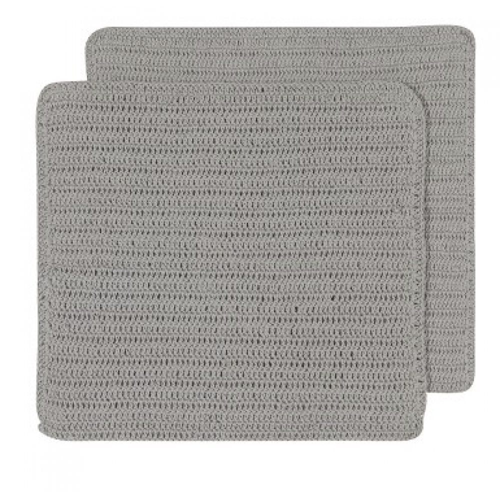Dish Cloth - Homespun London Grey