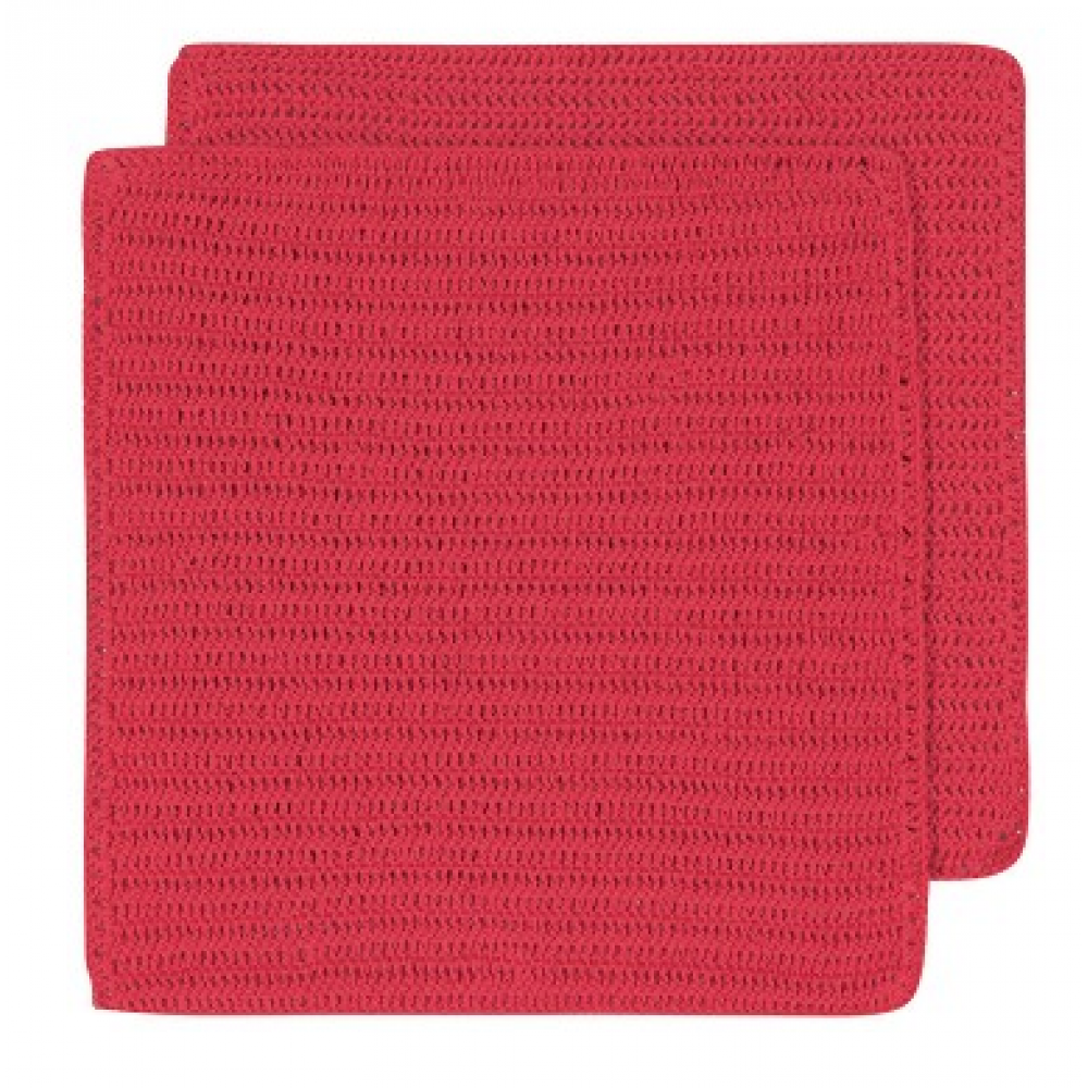 Dish Cloth - Homespun Red