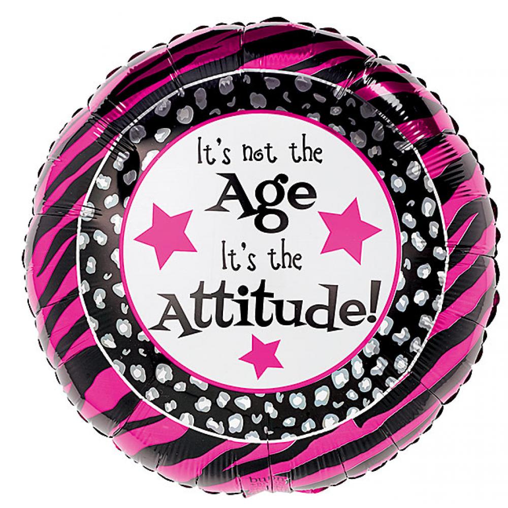Balloon Not the Age the Attitude *sale*