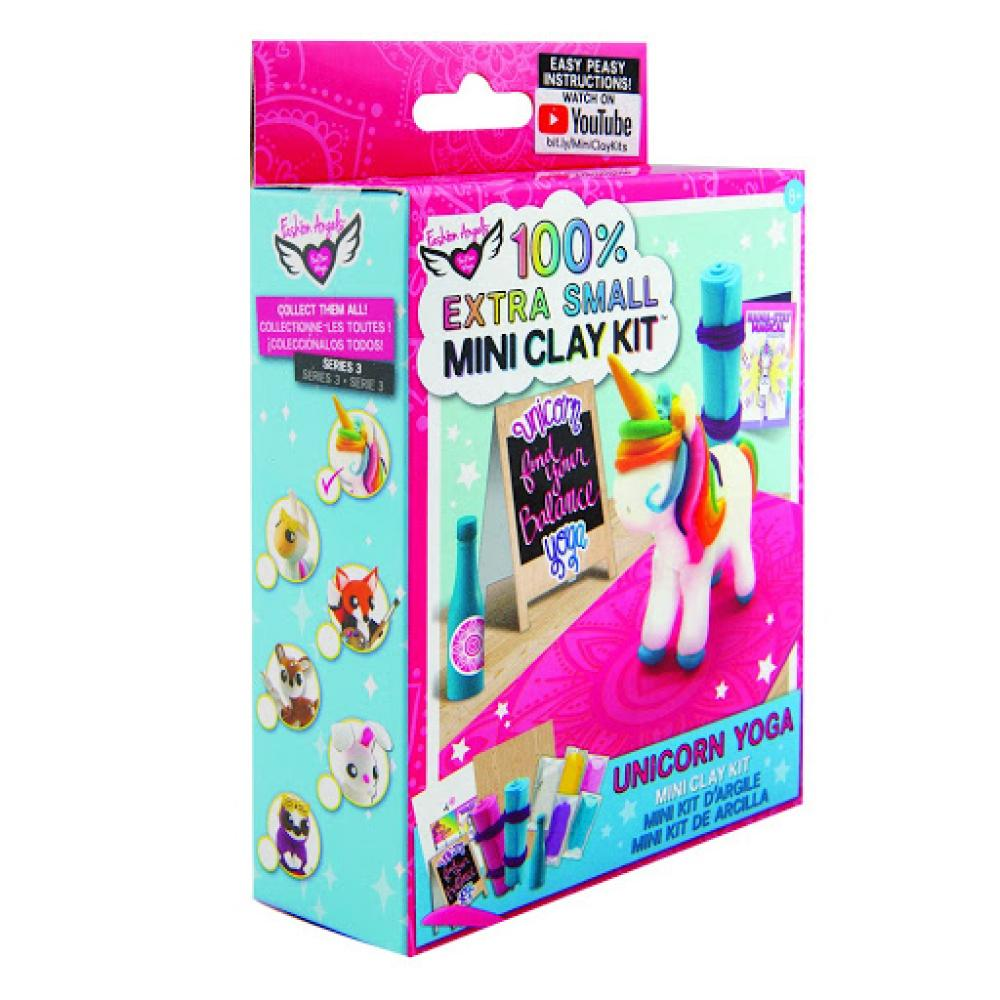 Extra Small Unicorn Yoga Mini Clay Kits