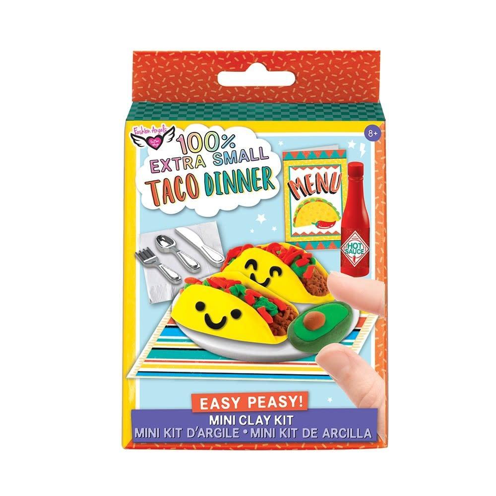 Extra Small Taco Dinner Mini Clay Kit