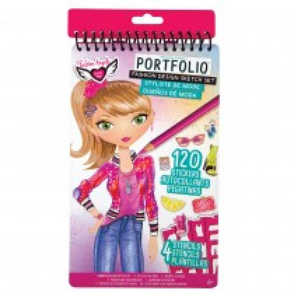 Fashion Design Compact Sketch Portfolio