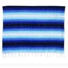 Throw Blanket Serape Assorted Colors 5ft x 7ft
