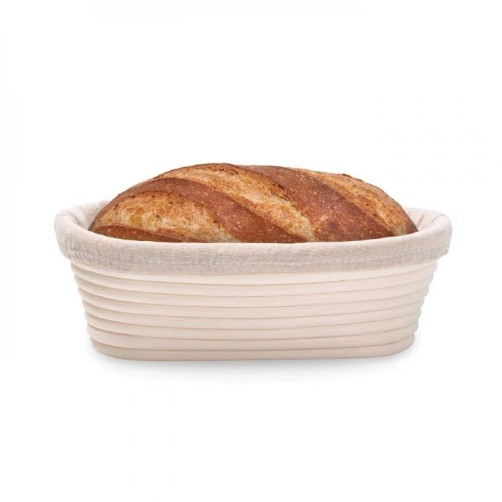 bread proofing basket oval 9.50x6x3.25 in.