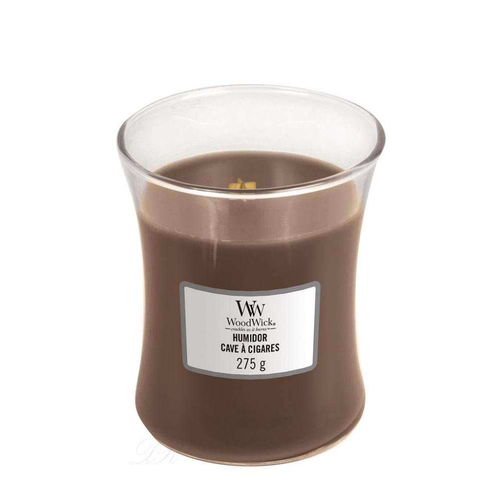 Woodwick Mini Candle Jar Humidor 3oz 20 Hour Burn Time