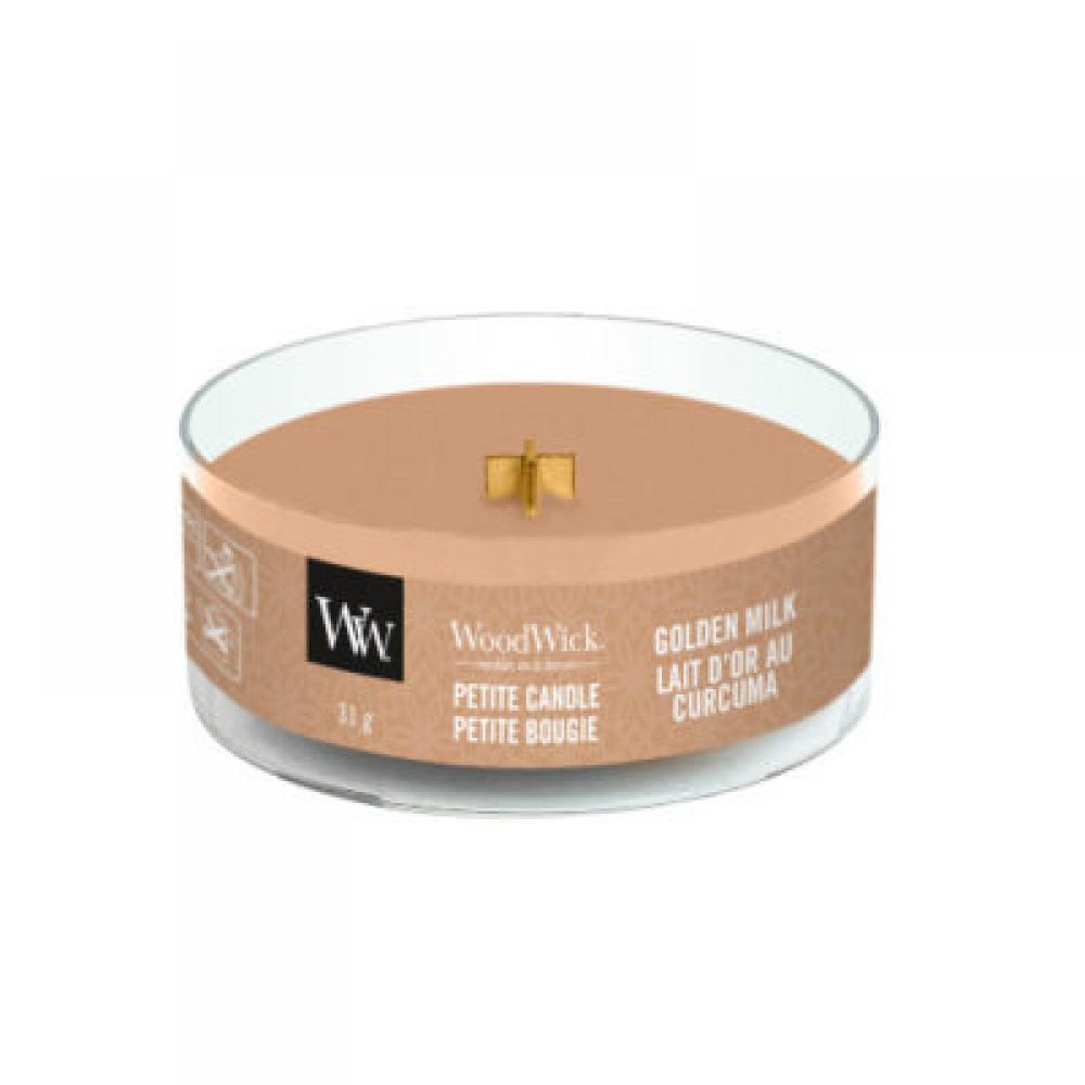 Woodwick Petite Candle Golden Milk 1.1oz