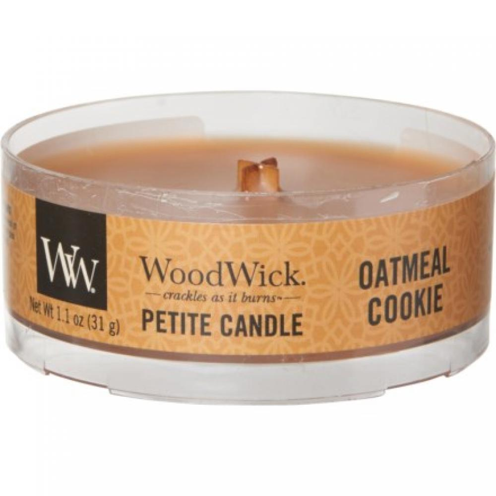 Woodwick Petite Candle Oatmeal Cookie 1.1oz