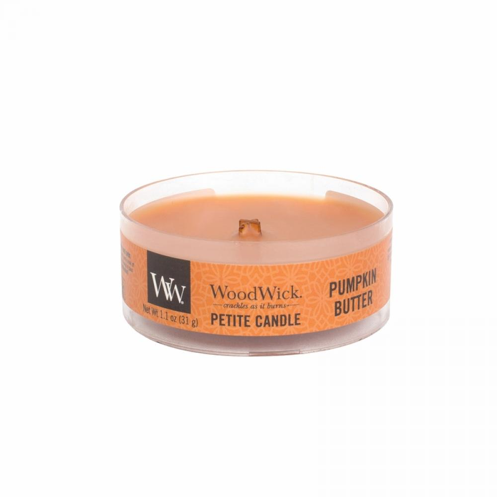 Woodwick Petite Candle Pumpkin Butter 1.1oz