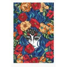 Tapestry Single 3D Lady Butterfly