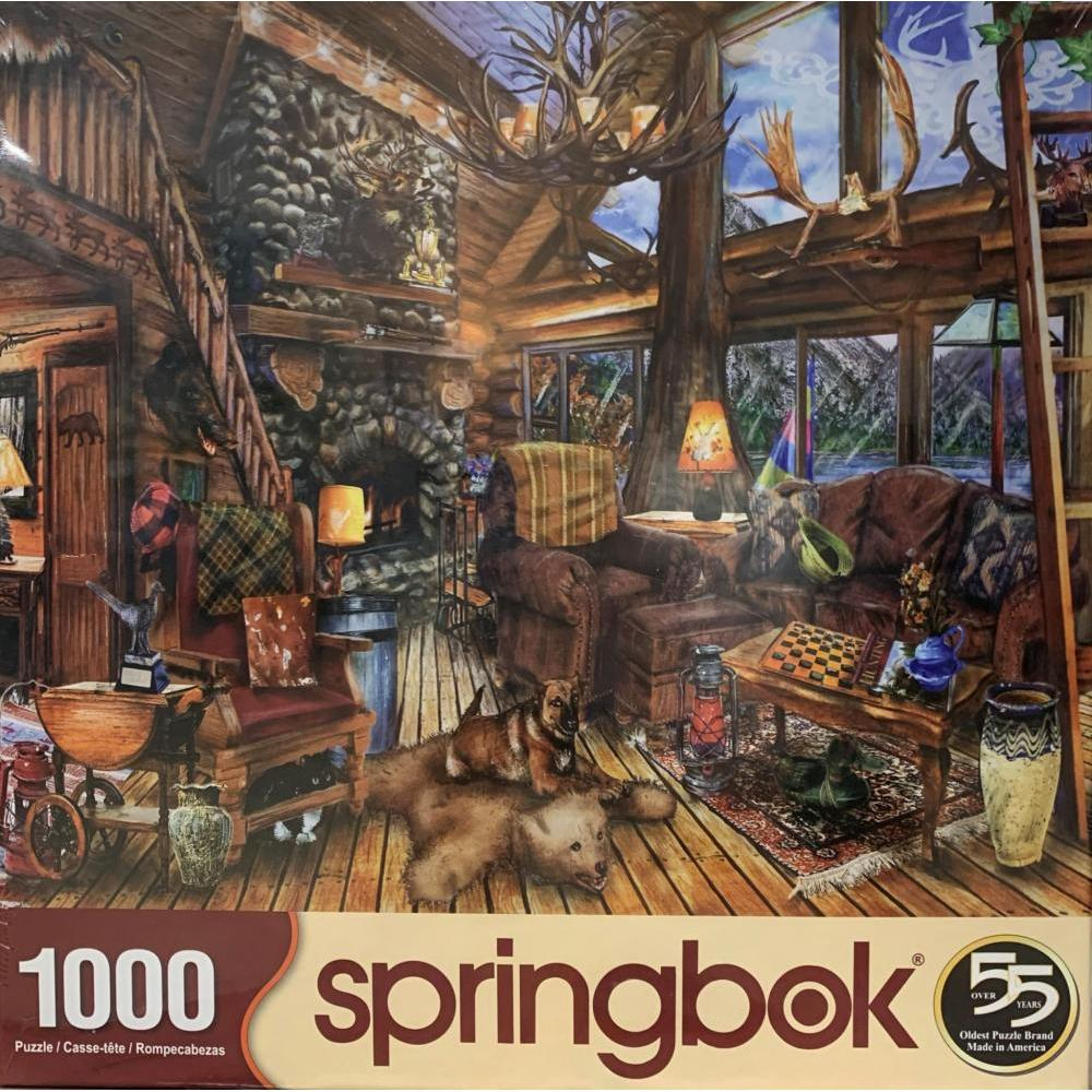 Puzzle 1000 Piece Hunting Lodge