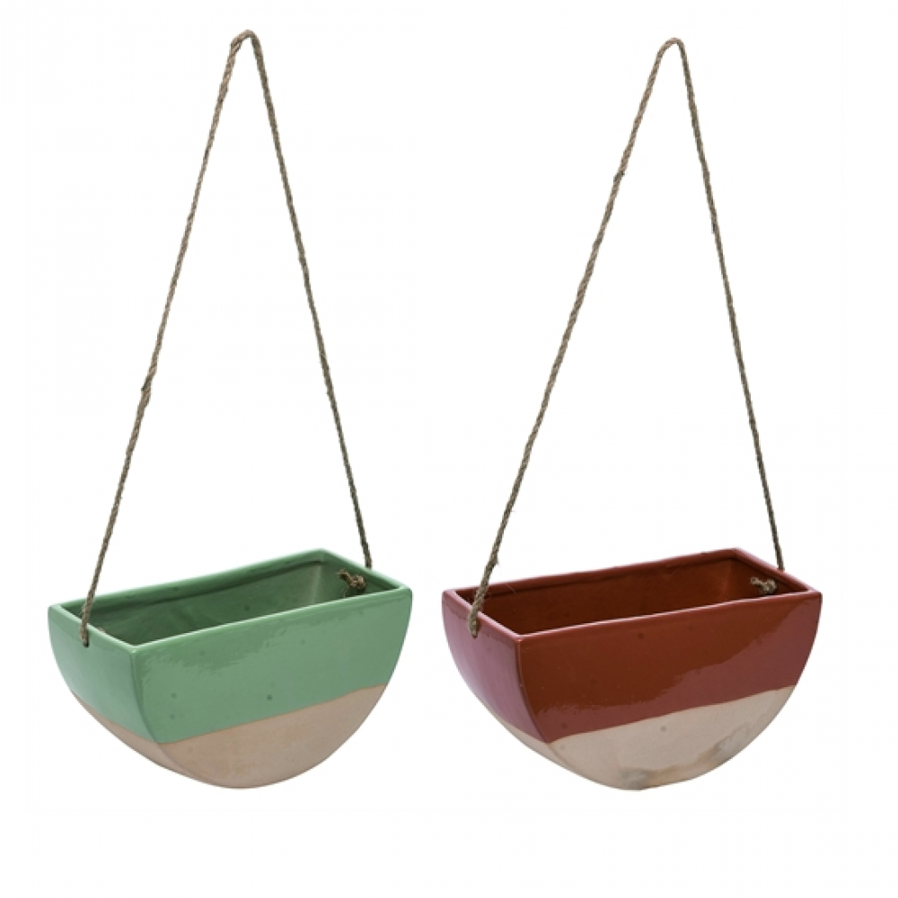 Planter - Hanging Half Circle 2 Assorted