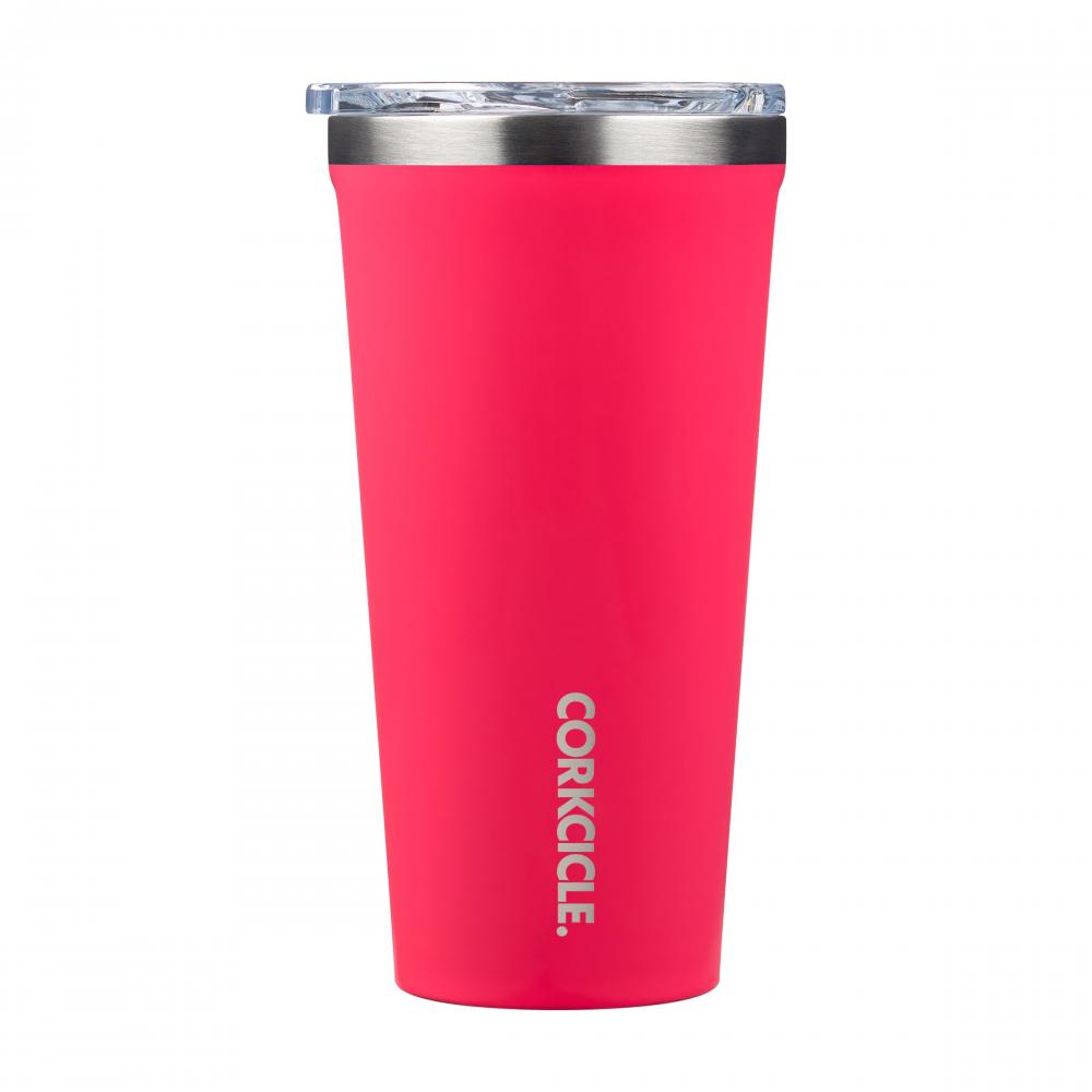 Travel Tumbler 16oz - Flamingo