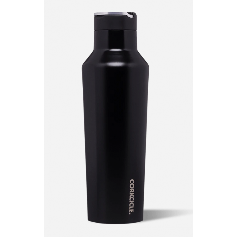 Travel Bottle Sport Canteen 20oz - Matte Black