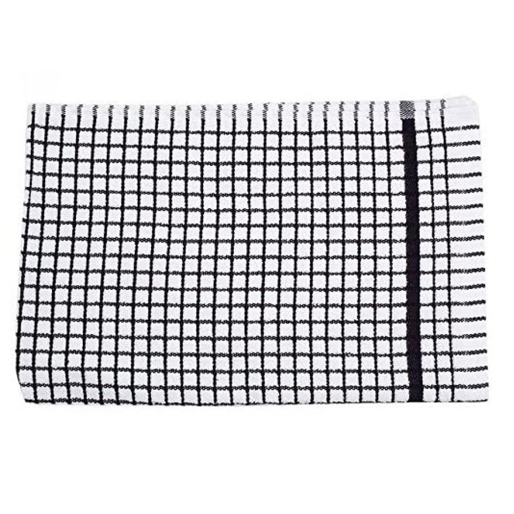 Tea Towel Poli-dry - Black