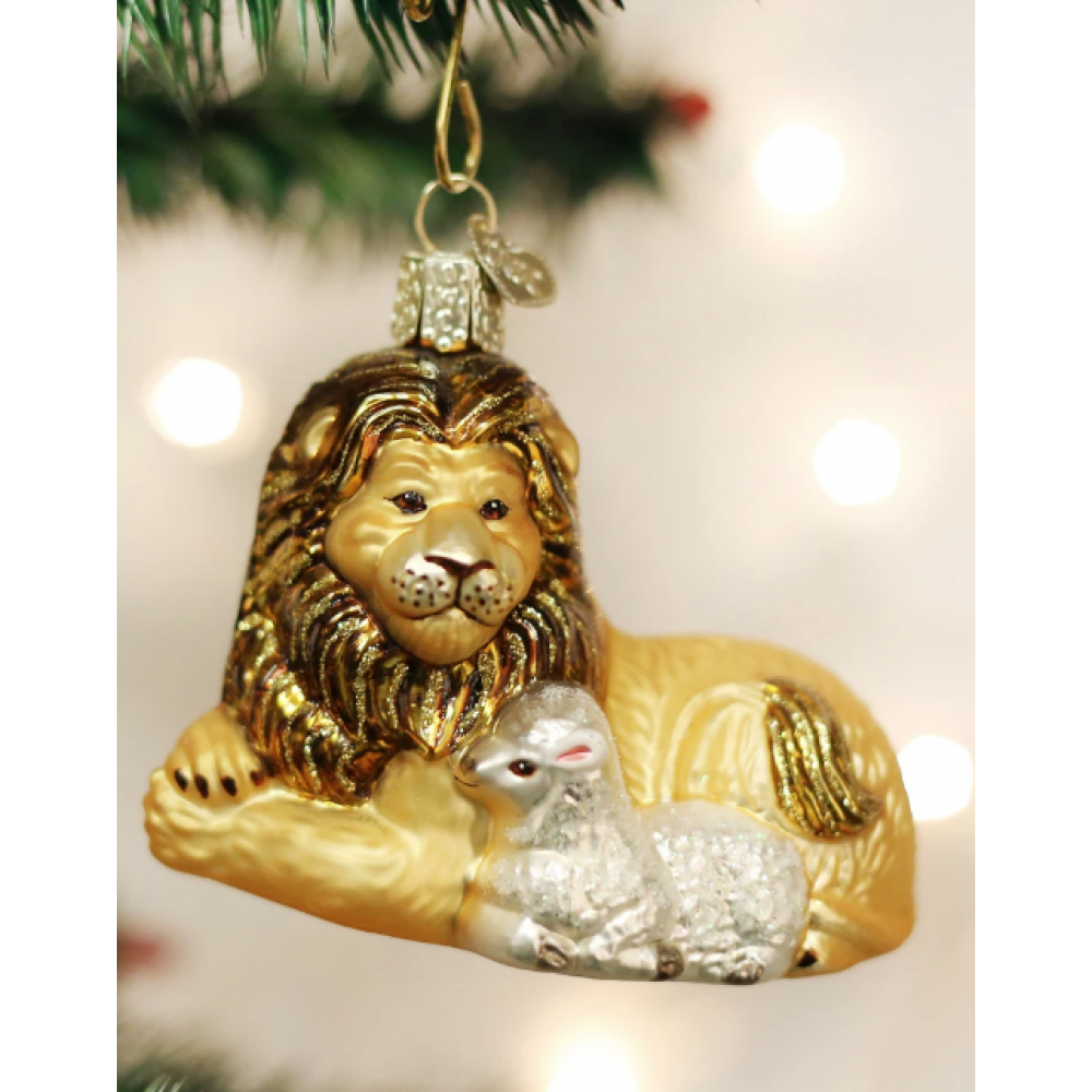 Christmas Order Lion and Lamb