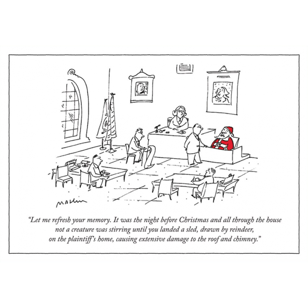 Christmas Card - New Yorker - The Night Before Christmas