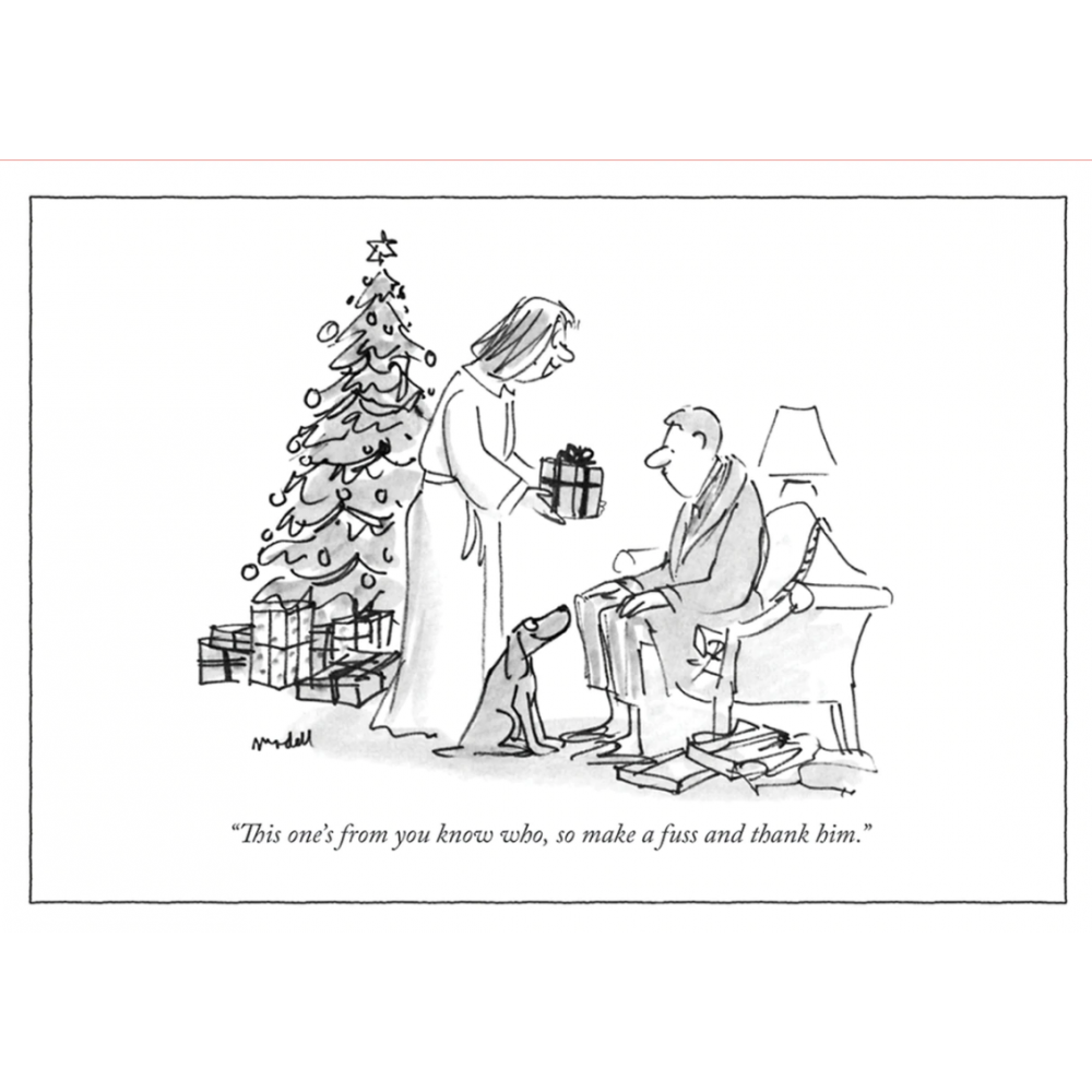 Christmas Card - New Yorker - From You Know Who