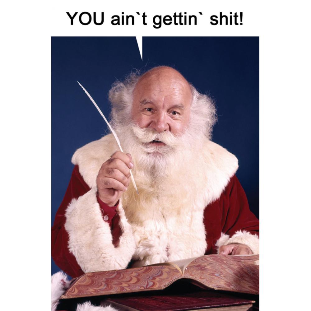 Christmas Card - Ain\'t Gettin Shit