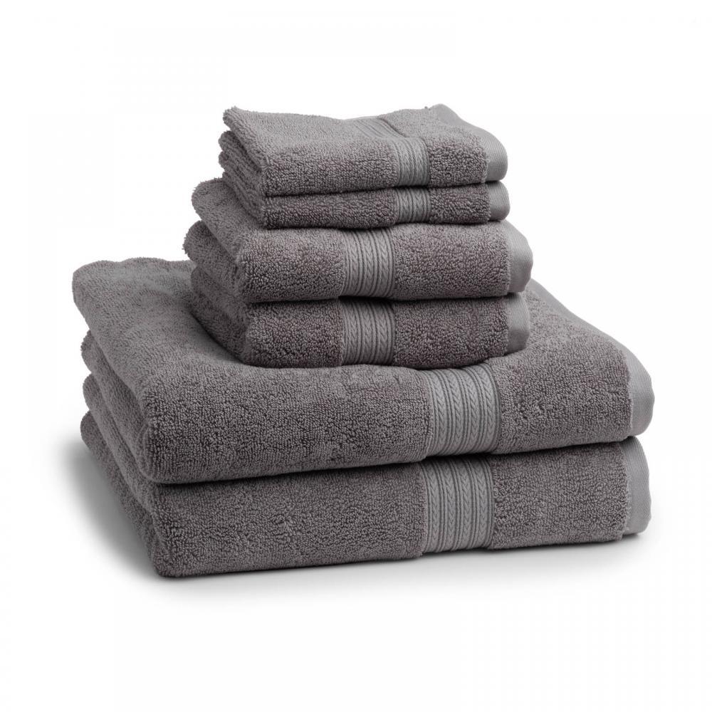Kassadesign Alloy Grey Bath Towel 28x54