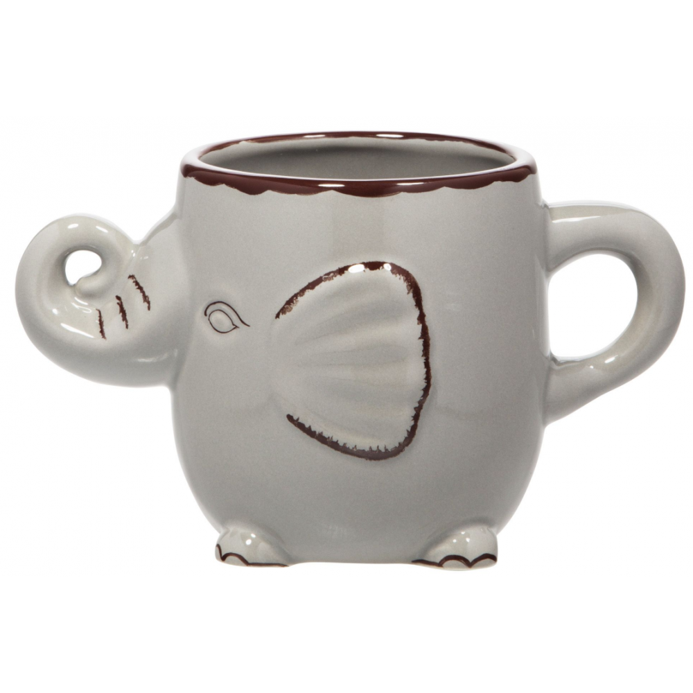 Mug - Grey Elephant 22oz