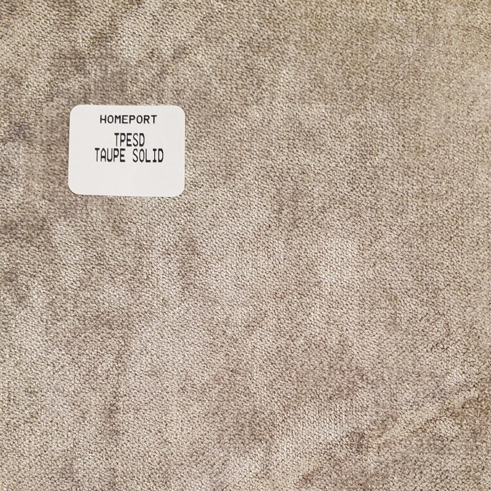 Throw Pillow 17in x 17in Square PHI Taupe Solid