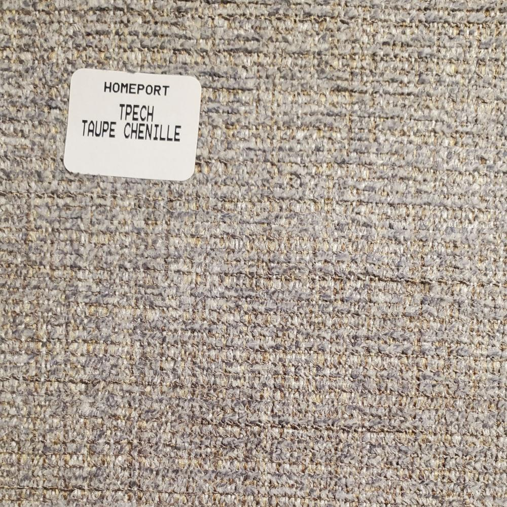 Throw Pillow 20in x 20in Square PHI Taupe Chenille
