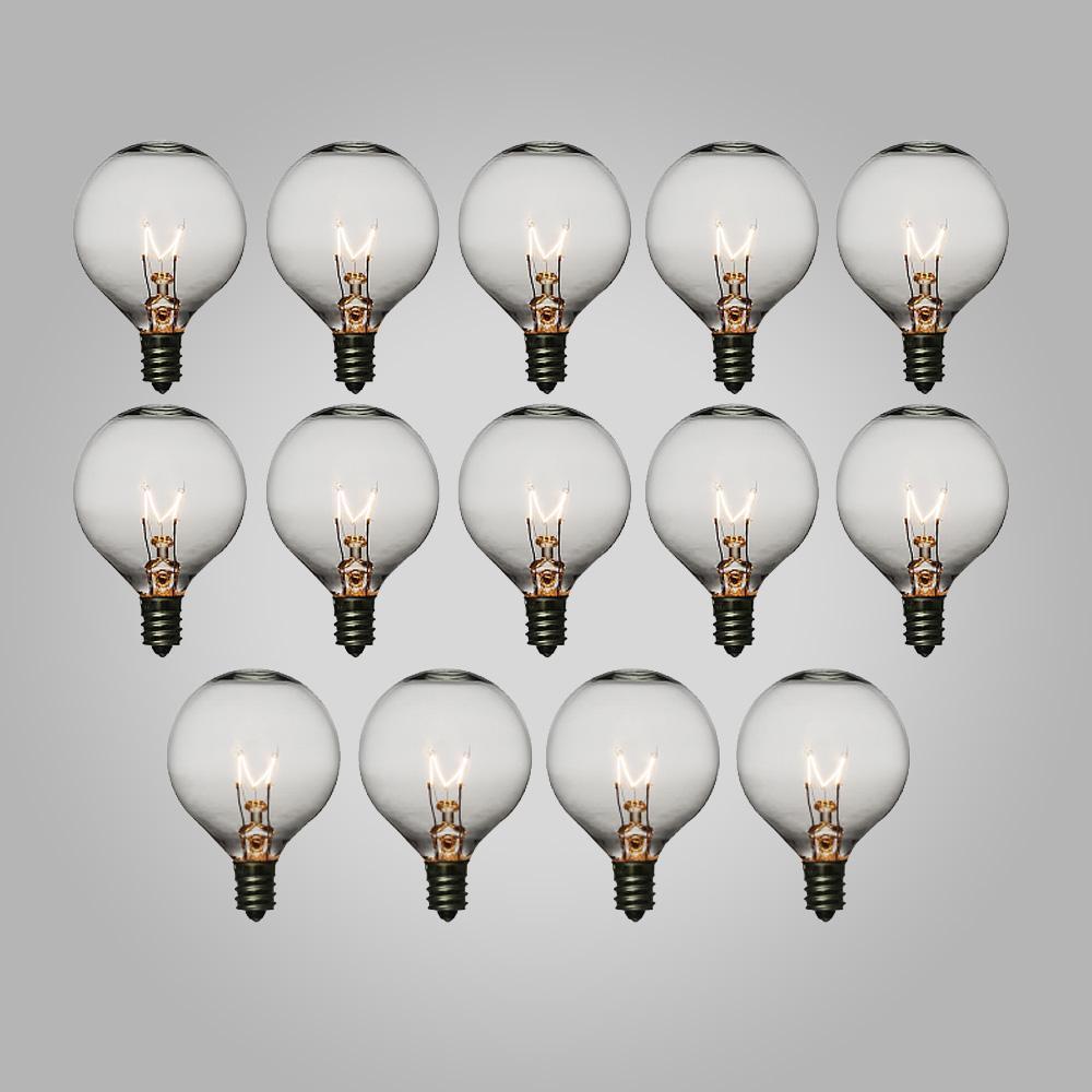 Edison Bulbs S/14 5 Watt For 10 Or 25 Socket String Lights