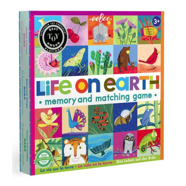 Memory Game Life on Earth
