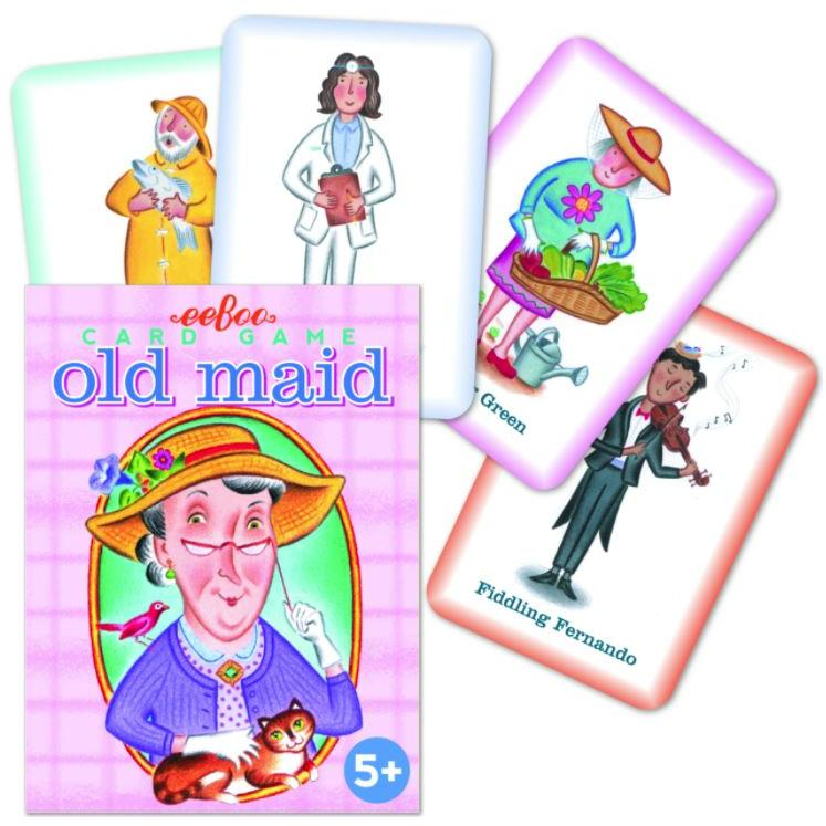 Playing Cards Old Maid