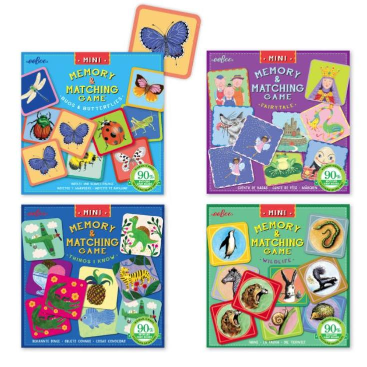 Matching and Memory Games Mini Choose from 4 Different Styles