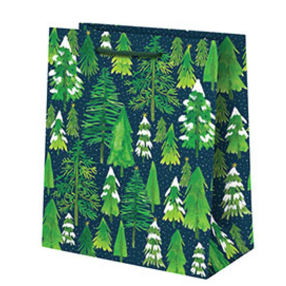 Gift Bag - Medium - Snowy Tree