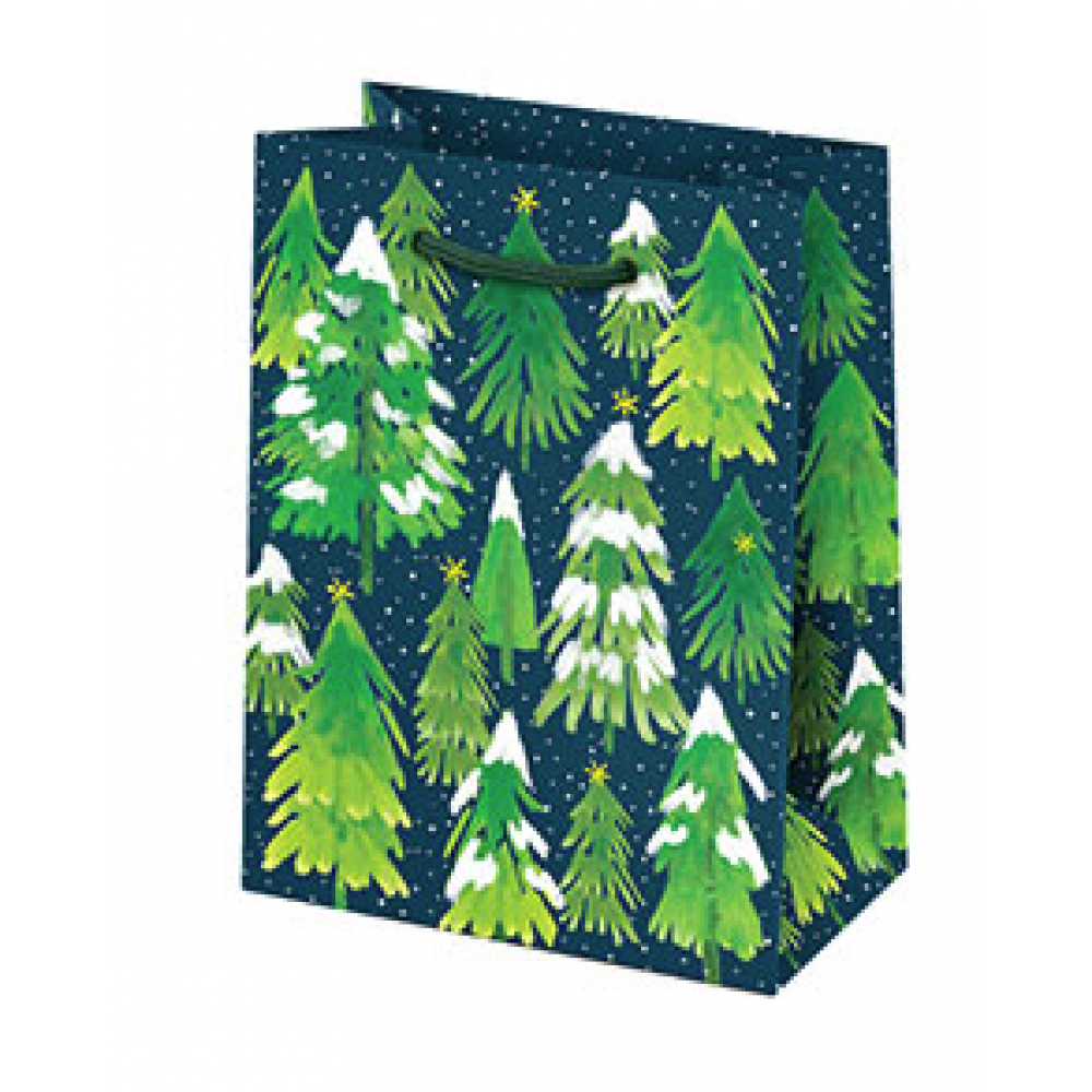 Gift Bag - Small - Snowy Trees