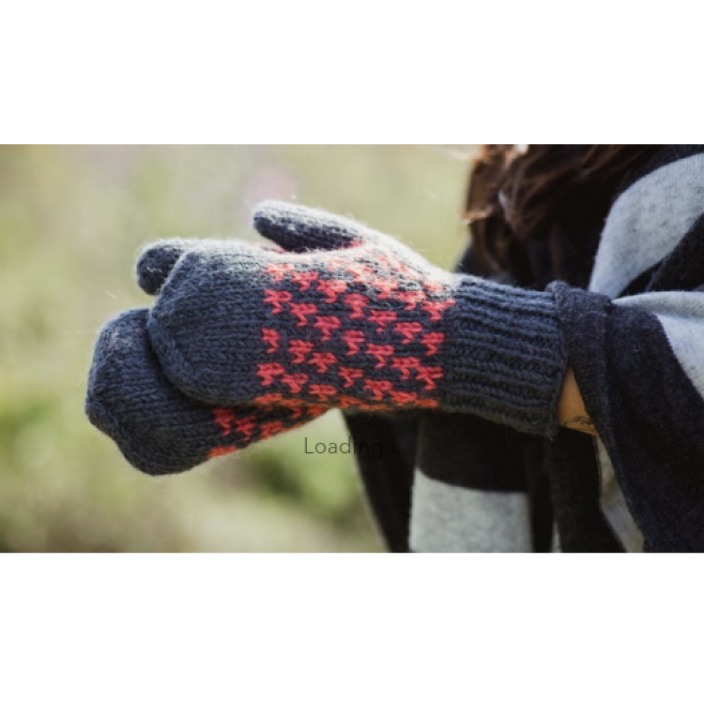 Yeti Mitten - Sheep Wool with Polyester Fleece Lining - Assorted Colors