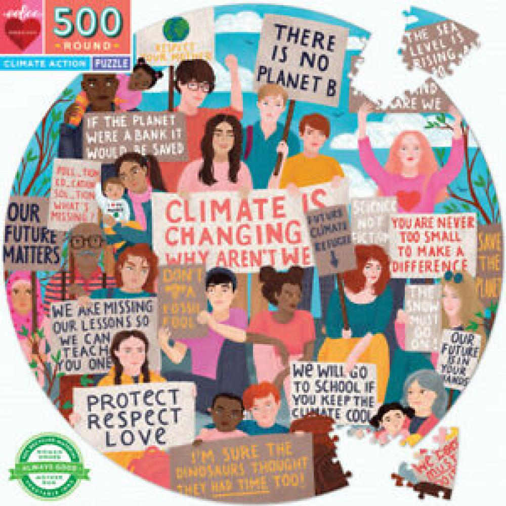 Puzzle 500 Piece Round Climate Action
