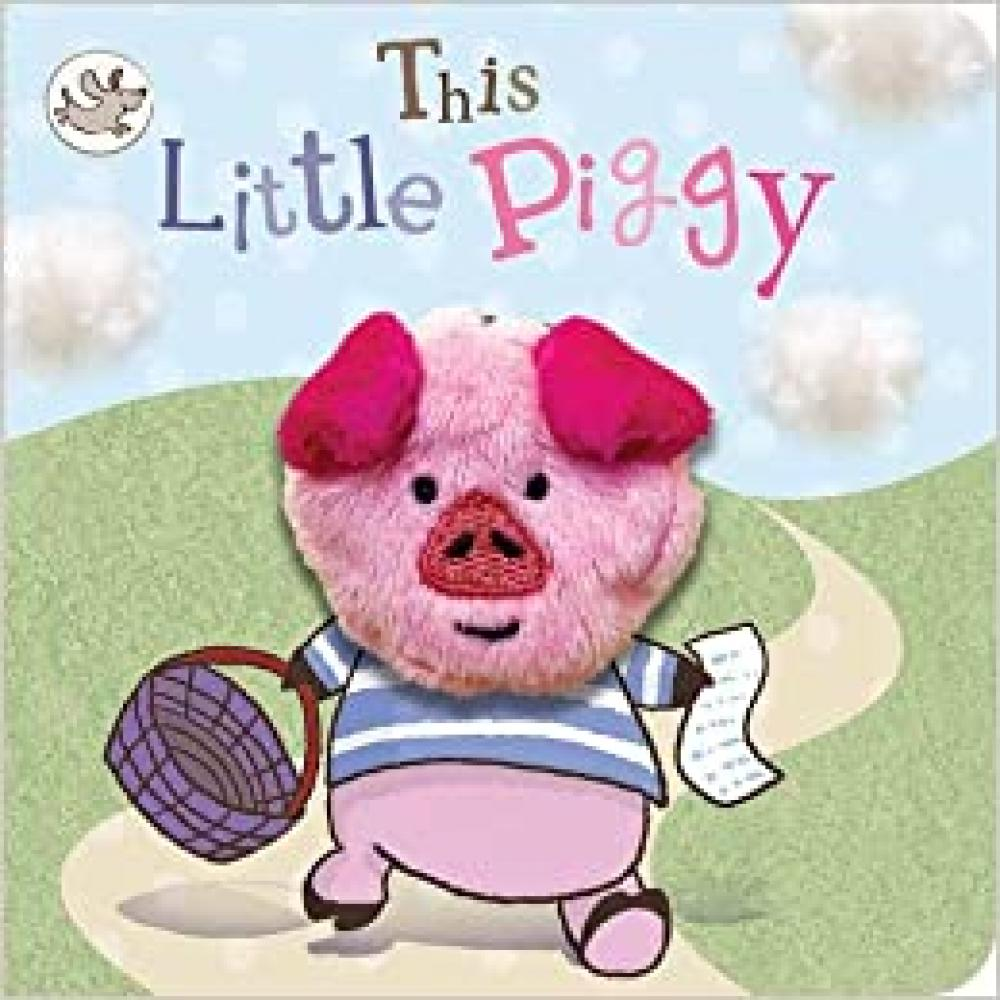 Book With Finger Puppet This Little Piggy