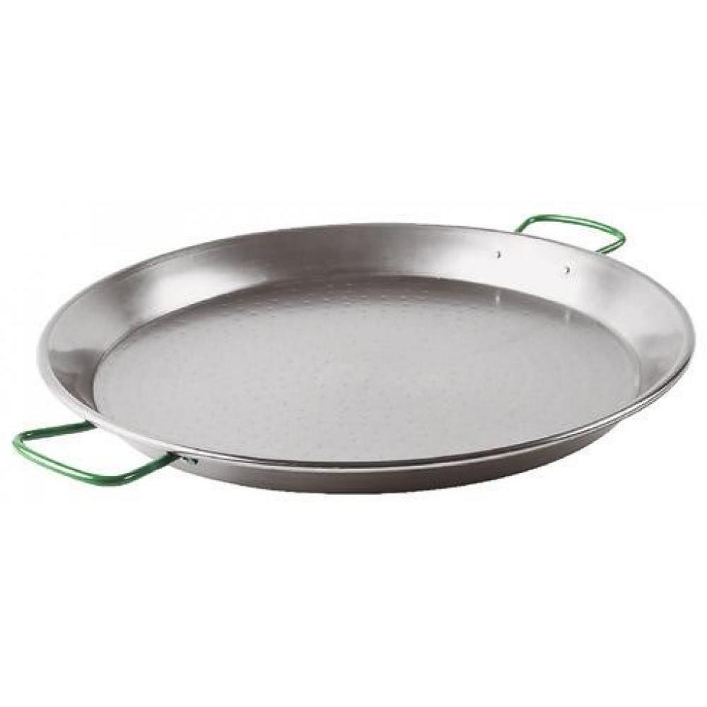 Spanish Hammered Carbon Steel Paella Pan 15-3/8in