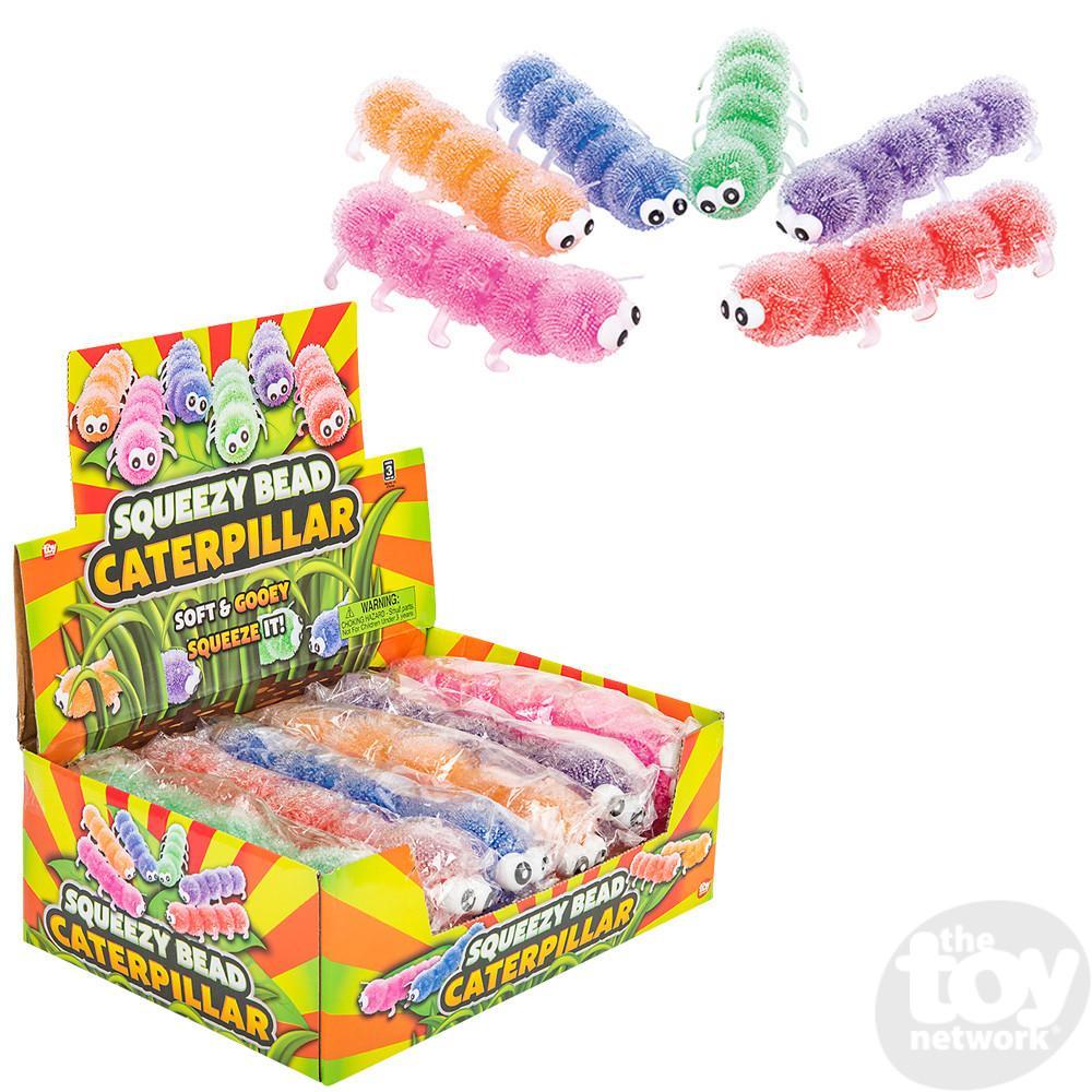 Caterpillar Squeezy Bead 9in