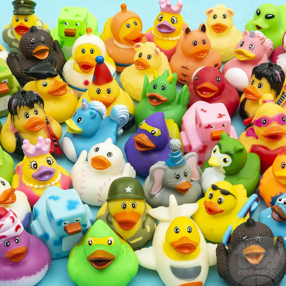 Rubber Duckies Assorted Characters 2in