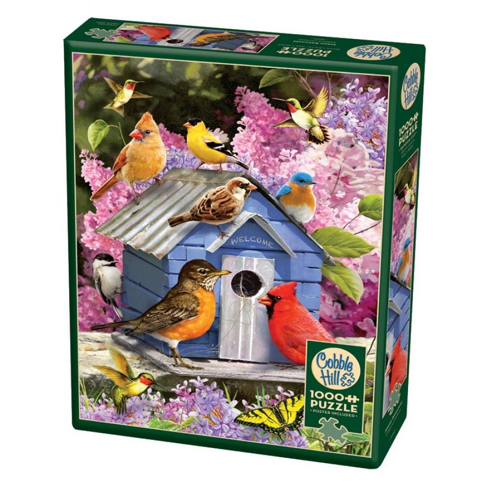 Cobble Hill Puzzle 1000 Piece Spring Birdhouses