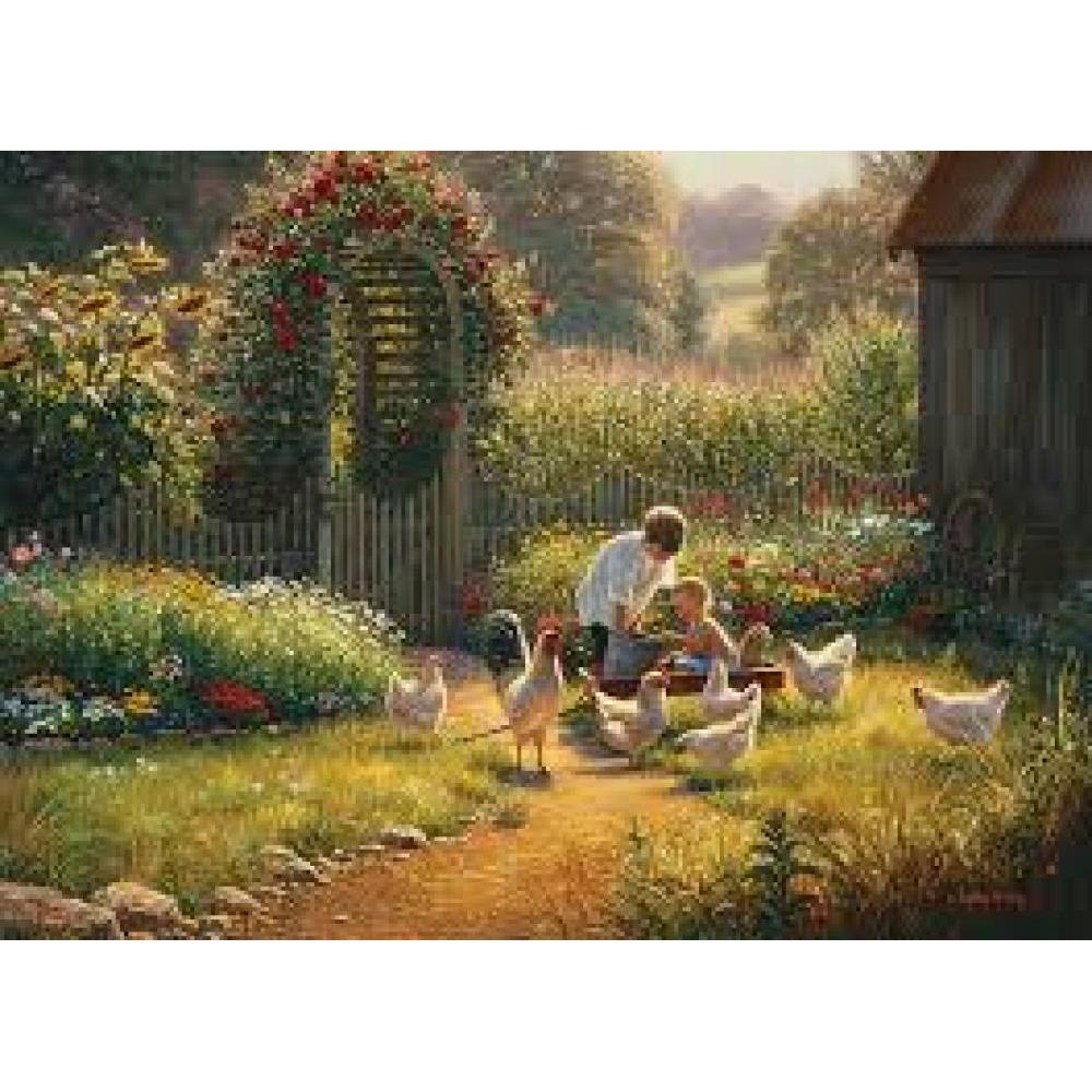 Cobble Hill Puzzle 1000 Piece Feeding Time