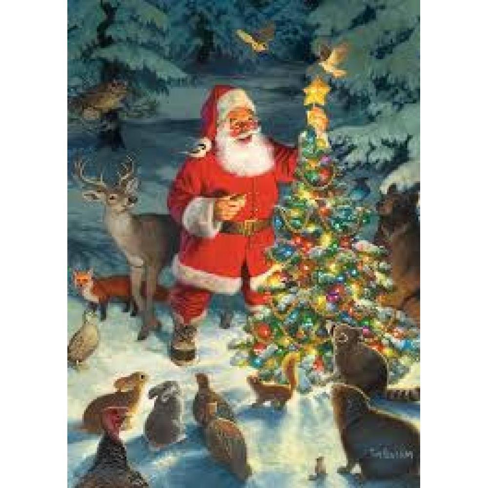 Cobble Hill Christmas Puzzle 1000 Piece Santas Tree
