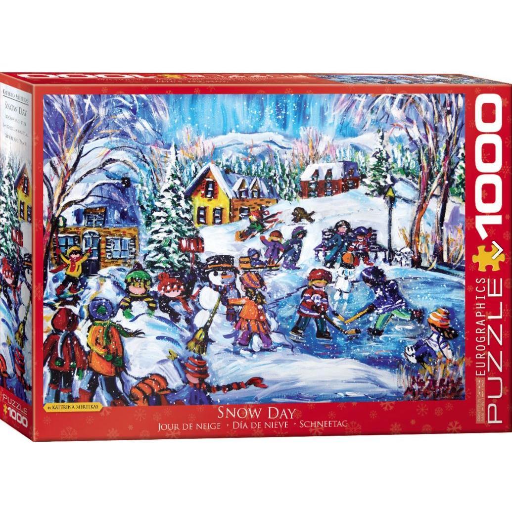 Puzzle 1000 Piece Winter Wonderland Snow Day